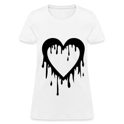 4Minute's Heart Bleed Shirt - Women's T-Shirt