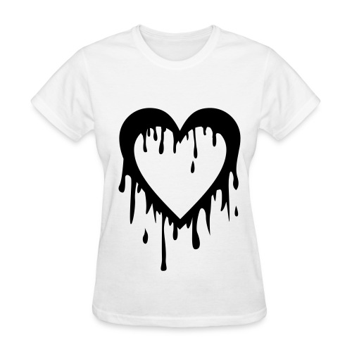 4Minute's Heart Bleed Shirt - Women's T-Shirt