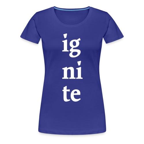 Ignite Monmouth 2014 T-Shirt - Women's Premium T-Shirt