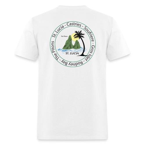 St. Lucia - Men's T-Shirt
