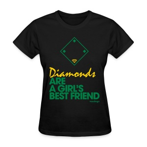 Diamonds (black) - Women's Tee - Women's T-Shirt