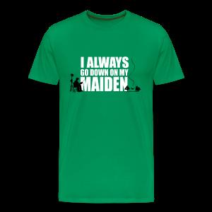 Always go down - Men's Premium T-Shirt