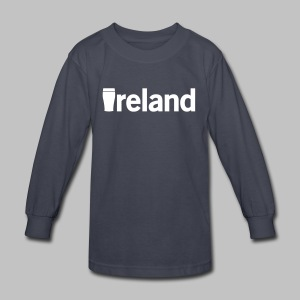 Pint Ireland - Kids' Long Sleeve T-Shirt