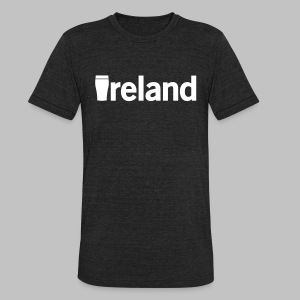Pint Ireland - Unisex Tri-Blend T-Shirt by American Apparel