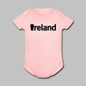 Pint Ireland - Short Sleeve Baby Bodysuit