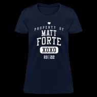 Women's T-Shirts ~ Women's T-Shirt ~ PROPERTY OF Matt Forte (RB #22) XOXO