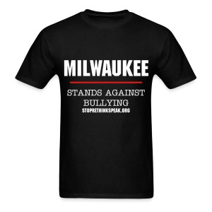 Milwaukee Stands Against Bullying - Men's T-Shirt