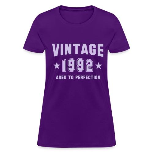 Vintage 1992 - Women's T-Shirt