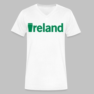 Pint Ireland - Men's V-Neck T-Shirt by Canvas