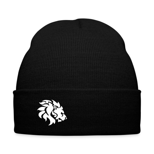 Call Me A Savage Hat - Knit Cap with Cuff Print