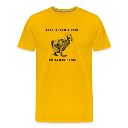 Extinction Sucks - Men's Premium T-Shirt
