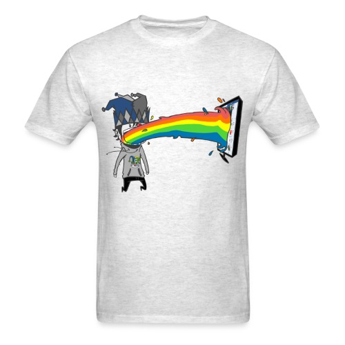 Rainbow Clown T-Shirt - Men's T-Shirt