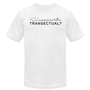 Transectual (BK) - Men's T-Shirt by American Apparel