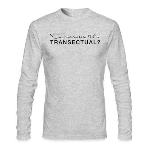 Transectual (BK) - Men's Long Sleeve T-Shirt by Next Level