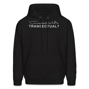 Transectual (WHT) - Men's Hoodie