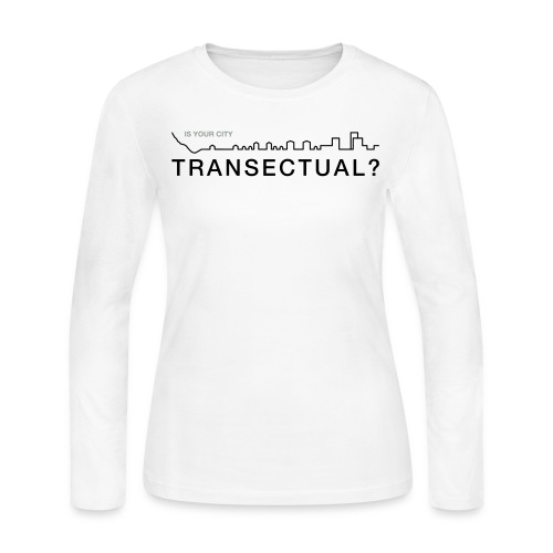 Transectual (BK) - Women's Long Sleeve Jersey T-Shirt