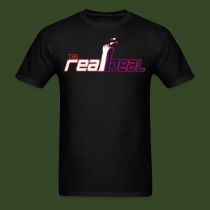 The Real Beal black - Men's T-Shirt