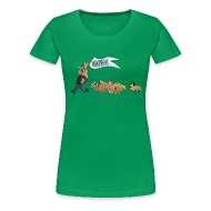 Women's T-Shirts ~ Women's Premium T-Shirt ~ Women's Tee: The Mandrew March!