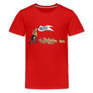 Kids' Shirts ~ Kids' Premium T-Shirt ~ Children's Tee: The Mandrew March!