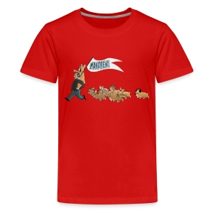 Children's Tee: The Mandrew March! - Kids' Premium T-Shirt