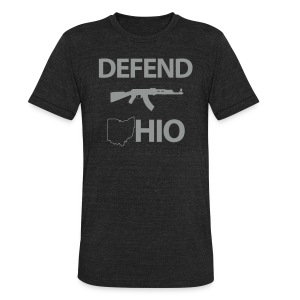 Defend Ohio (Tri-Blend) - Unisex Tri-Blend T-Shirt by American Apparel