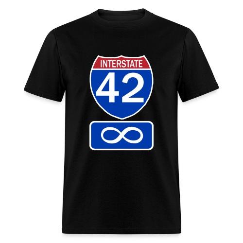 Interstate 42 - Men's T-Shirt