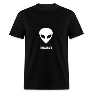 I BELIEVE ALIEN - Men's T-Shirt
