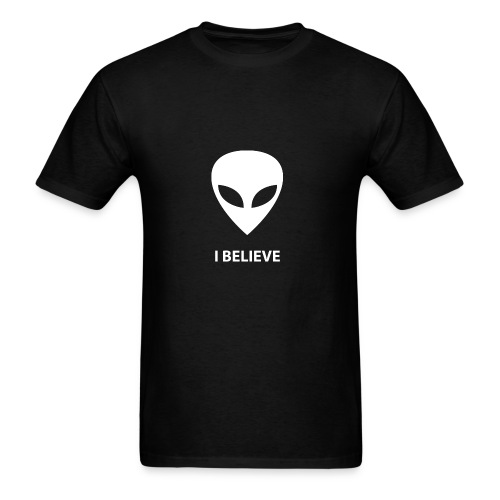 I BELIEVE ALIEN - Men's T-Shirt