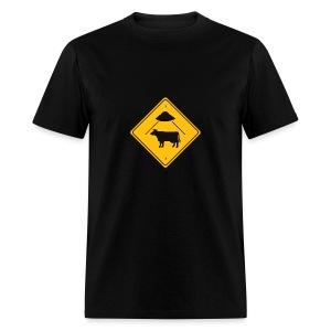 UF Cow Abduction - Men's T-Shirt