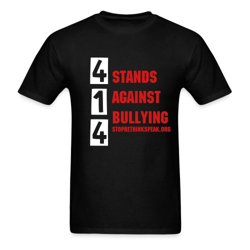 414 Stands Against Bullying - Men's T-Shirt