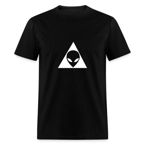 Alien Illuminati - Men's T-Shirt