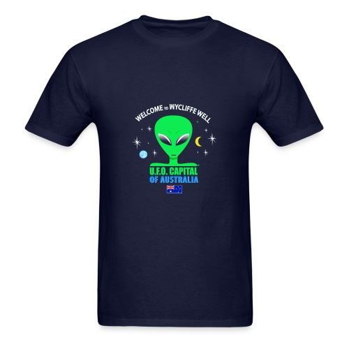 Wycliffe Well UFO - Men's T-Shirt