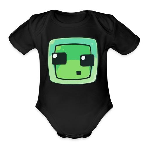 Slime  - Organic Short Sleeve Baby Bodysuit