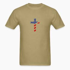 American (Small) Cross T Shirt