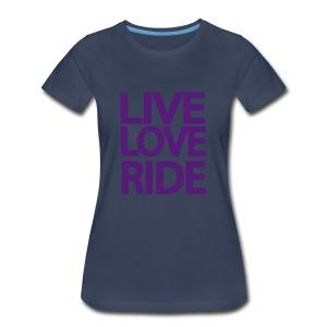 SASSI black tee - Women's Premium T-Shirt