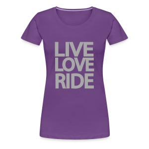 SASSI purple and silver - Women's Premium T-Shirt
