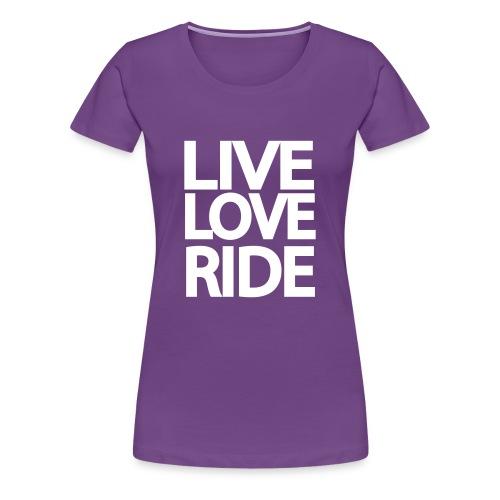 SASSI purple tee - Women's Premium T-Shirt