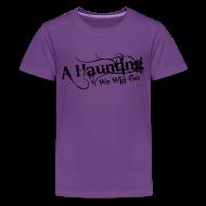 Kids' Shirts ~ Kids' Premium T-Shirt ~ AHWWG Black Logo Kids Front Design