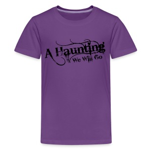 AHWWG Black Logo Kids Front Design  - Kids' Premium T-Shirt