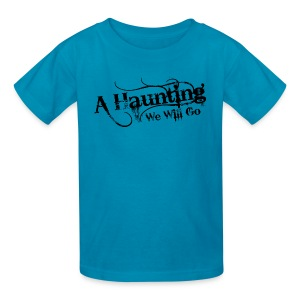 AHWWG Black Logo Kids Front Design  - Kids' T-Shirt