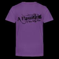 Kids' Shirts ~ Kids' Premium T-Shirt ~ AHWWG Black Logo Kids Back Design