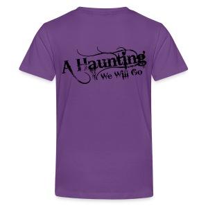 AHWWG Black Logo Kids Back Design  - Kids' Premium T-Shirt