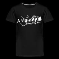 Kids' Shirts ~ Kids' Premium T-Shirt ~ AHWWG White Logo Kids Front Design