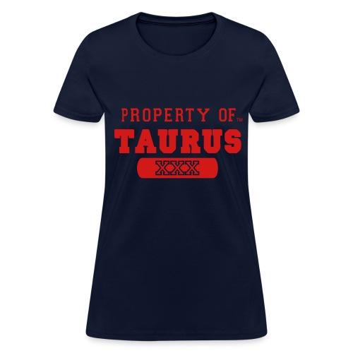 Taurus The Bull - Women's T-Shirt