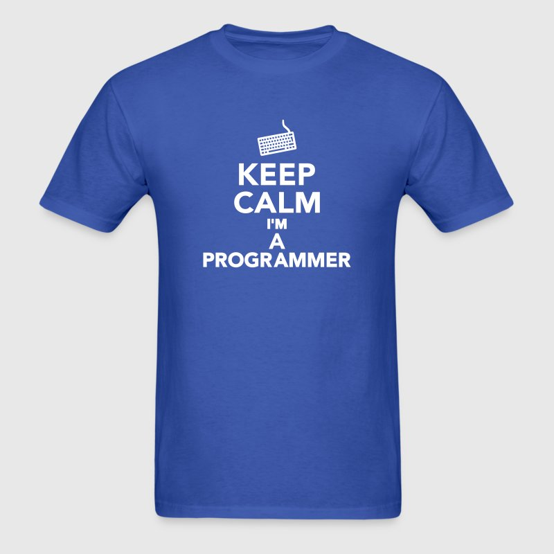 Keep calm I'm a Programmer T-Shirts - Men's T-Shirt