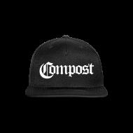 Caps ~ Snap-back Baseball Cap ~ Compost Snapback