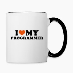 I love my Programmer Bottles & Mugs