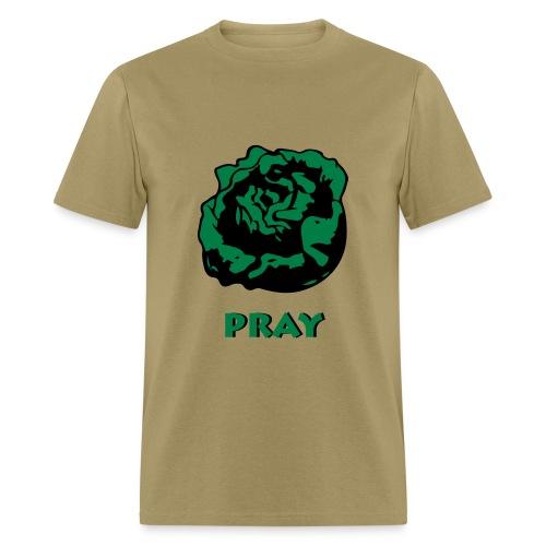 Lettuce Pray - Men's T-Shirt