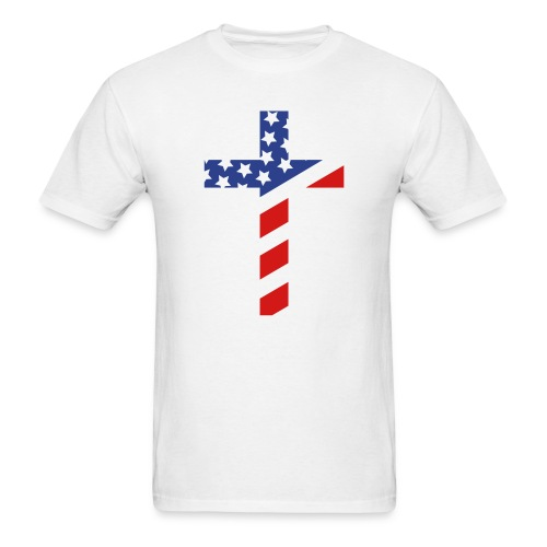 American Cross T Shirt - Men's T-Shirt