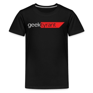 KIDS T-shirt  // GeekTyrant RED Logo - Kids' Premium T-Shirt